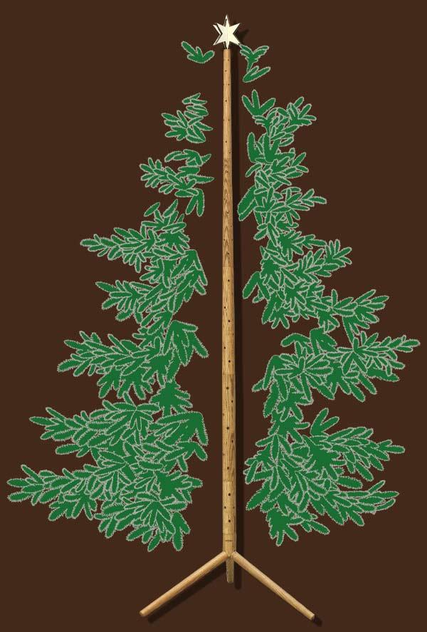 Keinachtsbaum nachhaltiger Weihnachtsbaum