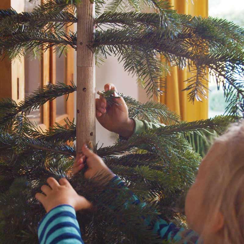Weihnachtsbaum selber bauen
